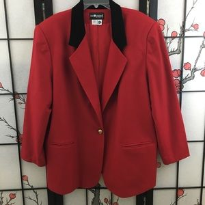 Sag Harbor Red Blazer (541H)